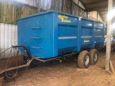 8 Ton Henton Grain Trailer